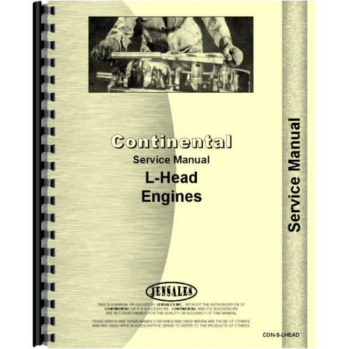 Continental Engines M271 Engine Service Manual
