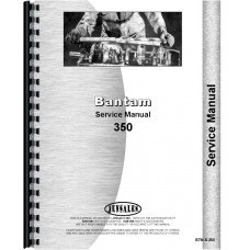 Bantam Crane 350 Plow Service Manual