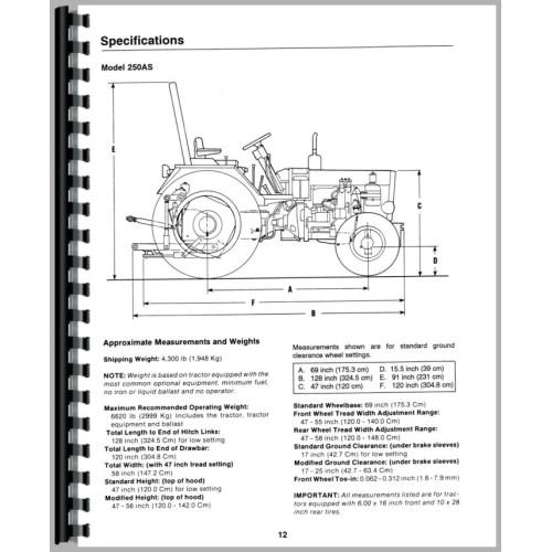 belarus 250 tractor operators manual rh jensales com