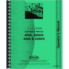 Belarus 400A Tractor Operators Manual