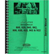 Belarus Tractor Service Manual (BE-S-5,8,900)