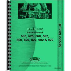 Belarus 525 Tractor Service Manual (1983-1996)