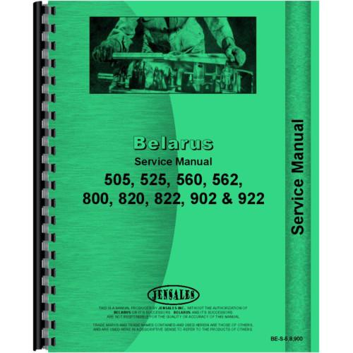belarus 820 tractor service manual 1977 1996 rh jensales com