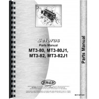 Image of Belarus MT3-80 Tractor Parts Manual