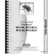Belarus MT3-82 Tractor Parts Manual