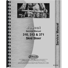 Bobcat 310 Skid Steer Loader Service Manual