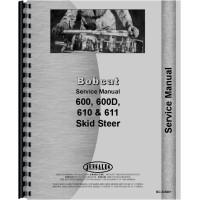 Bobcat 600 Skid Steer Loader Service Manual