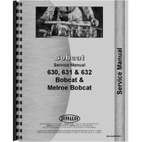 Bobcat 632 Skid Steer Loader Service Manual (Chassis)
