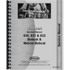 Bobcat 630 Skid Steer Loader Service Manual (Chassis)