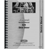 Bobcat 825 Skid Steer Loader Service Manual