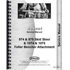 Bobcat 974 Skid Steer Loader Service Manual