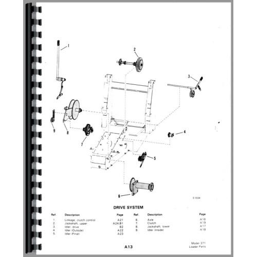 bobcat m 700 skid steer loader parts manual