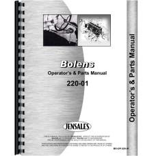 Bolens 220-01 Lawn & Garden Tractor Operators & Parts Manual