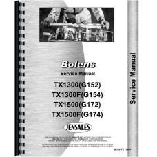 Bolens TX1300 Tractor Service Manual