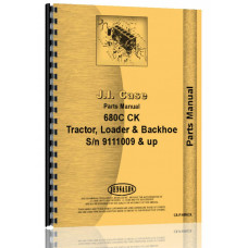 Case 680C Tractor Loader Backhoe Parts Manual (SN# 9111009 and Up)