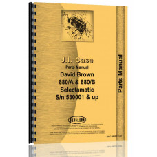 Case 880B Tractor Parts Manual (SN# 53001 & Up)