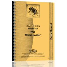 Case W26 Wheel Loader Parts Manual