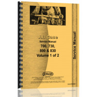 Case  830 Tractor Service Manual (CA-S-700,800+)