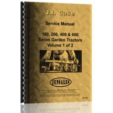 Case 200 Lawn & Garden Tractor Service Manual