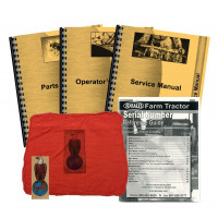 Case 1070 (S/N 8650001-8675000) Deluxe Tractor Manual Kit