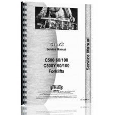 Clark C500 Forklift Service Manual (60/S100, Y60/S100)