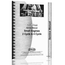 Clinton 2 Cyl & 4 Cyl Engine Service Manual