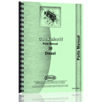 Cockshutt 30 Tractor Parts Manual