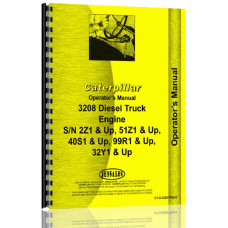 Caterpillar 3208 Engine Operators Manual (SN# 2Z1 & Up, 32Y1 & Up, 40S1 & Up, 51Z1 & Up, 99R1 & Up)