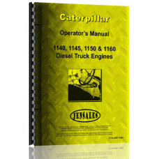 Caterpillar 1150 Engine Operators Manual (All SN#)