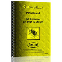 Caterpillar 225 Excavator Parts Manual (S/N 51U1-51U589) (51U1-51U589)