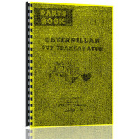Image of Caterpillar 977 Traxcavator Parts Manual (S/N 53A1-53A1906) (53A1-53A1906)