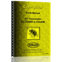 Caterpillar 977 Traxcavator Parts Manual (S/N 53A3000-53A4796) (53A3000-53A4796)