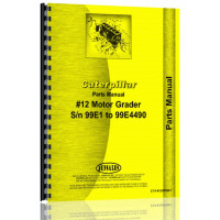 Image of Caterpillar 12 Grader Parts Manual (S/N 99E1-99E4490) (99E4490)