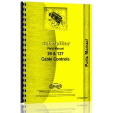 Caterpillar D9 Crawler # 29 Cable Control Attachment Parts Manual (SN# 18A1-18A2505, SN# 31E1 and Up, SN# 56C1-56C6994) (31E1-31E11623)