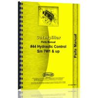 Caterpillar D6 Crawler #44 Hydraulic Control Attachment Parts Manual (SN# 4R1-4R9999, 7W1 & Up) (Hyd Control Attch)