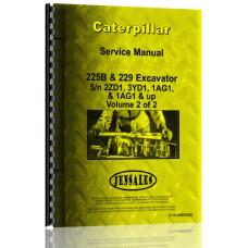 Caterpillar 229 Excavator Service Manual (SN# 1AG1 & Up, 1GF1 & Up)