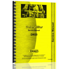 Image of Caterpillar DW20 Tractor Service Manual