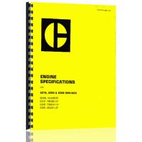 Image of Caterpillar G399 Engine Service Manual (S/N 49C261 +)
