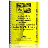 Image of Caterpillar D4 Crawler Operators Manual (SN# 4G)