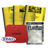 Caterpillar 97753A Traxcavator, 53A1-53A1906 Deluxe Traxcavator Manual Kit