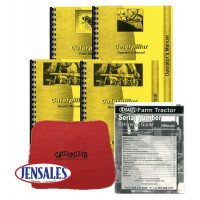 Caterpillar D6 Crawler (9U1-9U13262) Deluxe Manual Kit