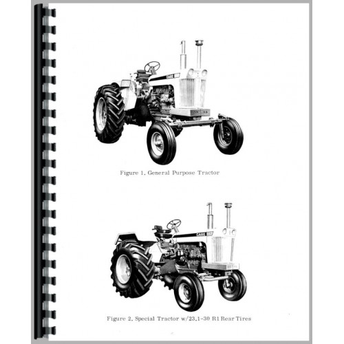 Farm & Ranch Case 1030 Deluxe Tractor Manual Kit Patio, Lawn ...