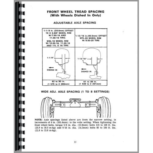 case 1175 tractor operators manual (sn 8712001 8770000) John Deere Skid Steer Wiring Diagrams 1175 Case David Brown Tractor Wiring Diagram #8