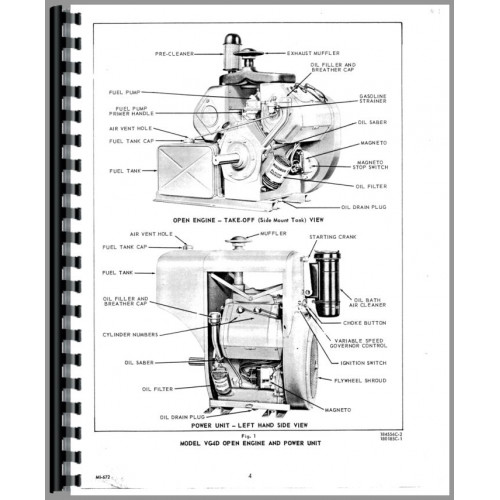 Ditch Witch 4010 Trencher Wisconsin Engine Service Manual Rh Jensales Old Robin: Wisconsin Robin Engine Parts Diagram At Sewuka.co