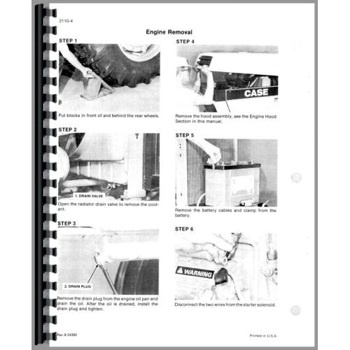 case 1494 tractor service manual rh jensales com Owner Manual Case Zipper Owner's Manual Holder