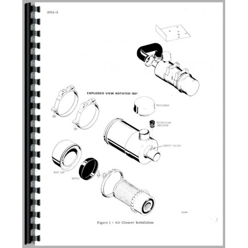 Case 1830 Uniloader Service Manual