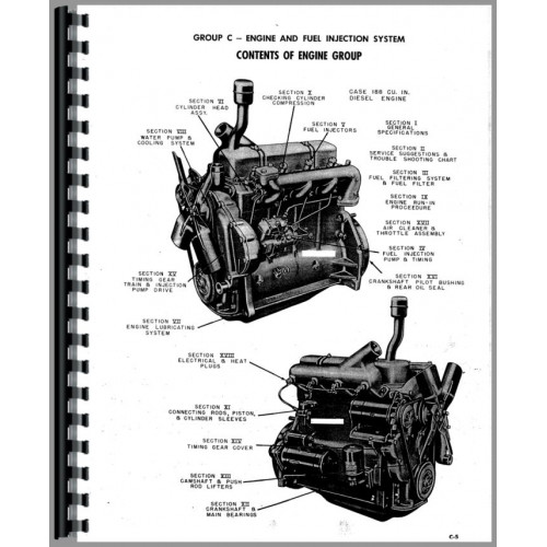 Case 188d Engine Service Manual