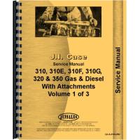 Case 310E Crawler Service Manual