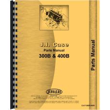 Case 400B Tractor Parts Manual