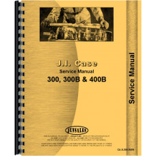 Case 310 Tractor Service Manual (1956-1958)